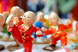 Toy Kung Fu Fighters