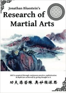 Cover of Research of Martial Arts by Jonathan Bluesmen